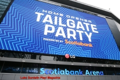 Toronto Maple Leafs 2019 Home Opener vs Ottawa Senators -Tailgate party outside Scotiabank Arena