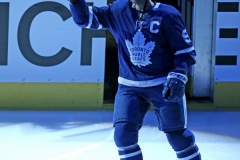 Toronto Maple Leafs 2019 Home Opener vs Ottawa Senators - John Tavares(91) is announced the 25th Captian of the Toronto Maple Leafs.