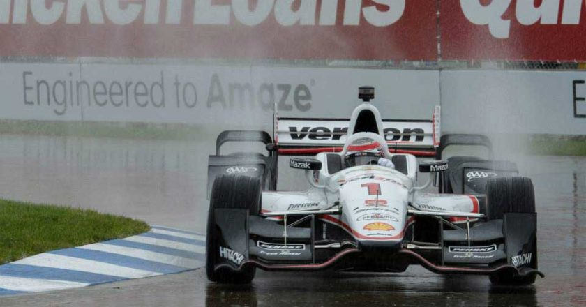 Will Power at the DBIGP 2015, DETROITGP MOBILE APP