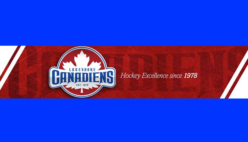 Lakeshore Canadiens, Lakeshore Canadiens Playoff Schedule, Lakeshore Canadiens Round 2 Schedule