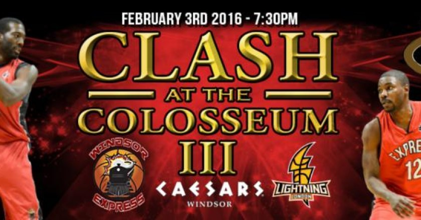 windsor express presents clash at the colosseum III