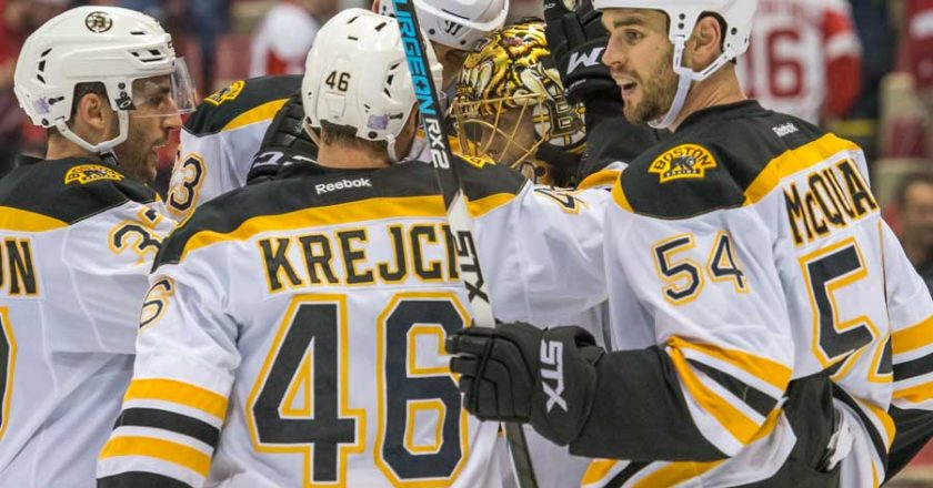 NHL REVIEW MARCH 21 2018 - BRUINS CLINCH PLAYOFF BERTH