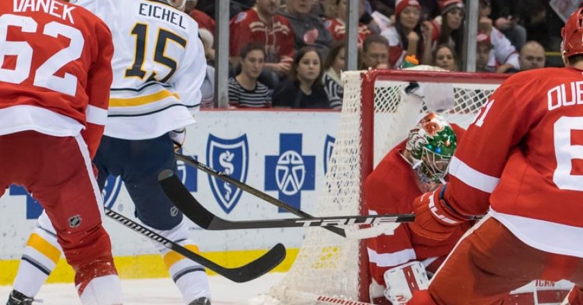 Red Wings vs Sabres PIX