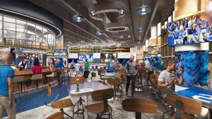 New Ford Field Corner Bar