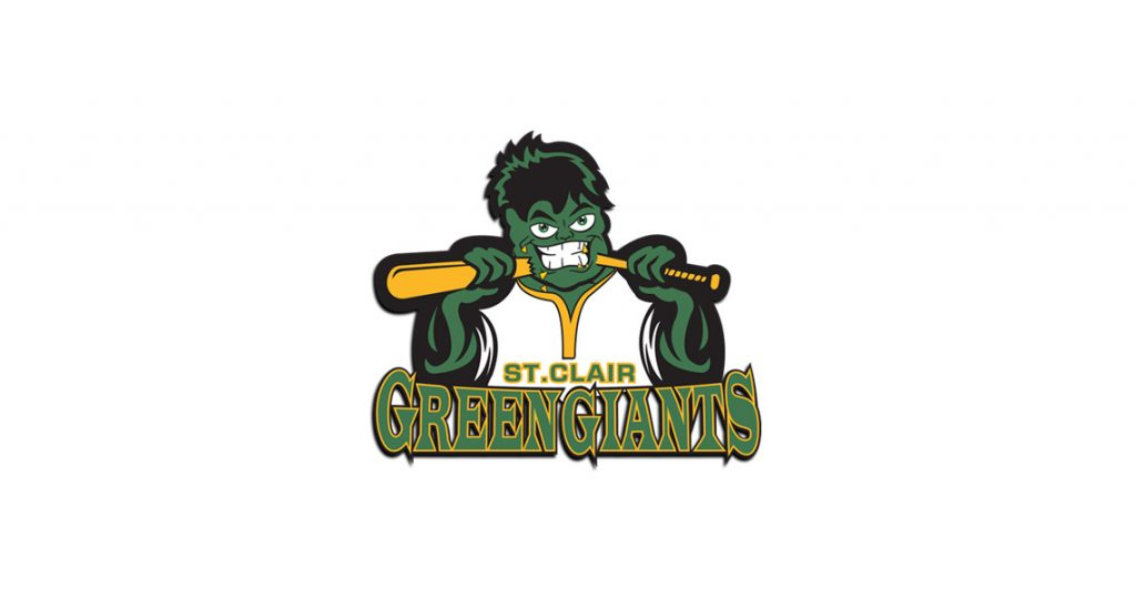 The St Clair Green Giants, St. Clair Green Giants Schedule, Green Giants June 15 2017, Green Giants June 18 2017 Game Recap, Green Giants June 19, Green Giants Split Doubleheader June 24, Green Giants Recap June 28 2017, St. Clair Green Giants Recap June 29 2017, Green Giants Canada Day, St. Clair Green Giants Swept in Canada Day Double Header, Green Giants Lose Fourth, St. Clair Green Giants Bats Flat in Flat Rock, No Fireworks for the Green Giants, Green Giants Snap Losing Streak, Green Giants Recap July 9 2017, Four St. Clair Green Giants Headed to All-Star Game, Green Giants Looking for a Rainbow and No Rain Friday Night, Green Giants Recap July 14, Green Giants Back in Action Friday Night, Green Giants Recap July 21 2017, St. Clair Green Giants July 24 2017 Recap, Green Giants vs Monarchs July 26 Recap, St. Clair Green Giants July 27 Recap - GGs Top Leprechauns