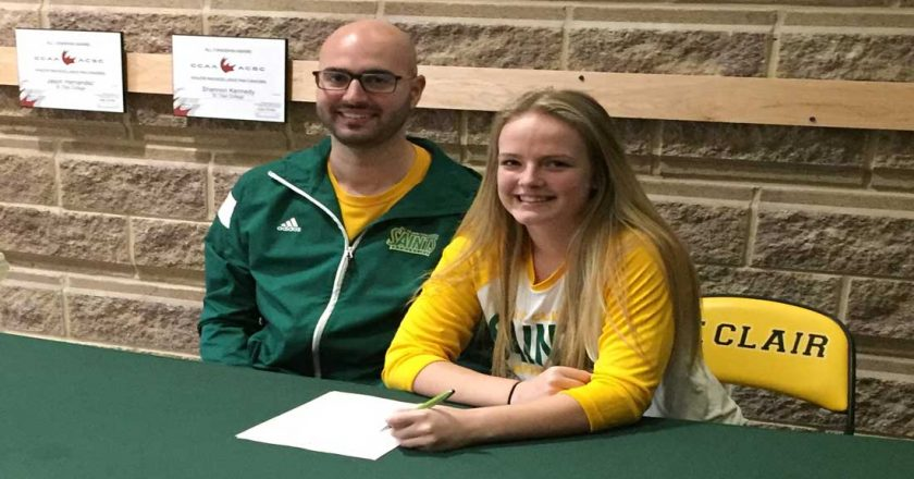 Saints Women's Volleyball Sign Three Top Recruits