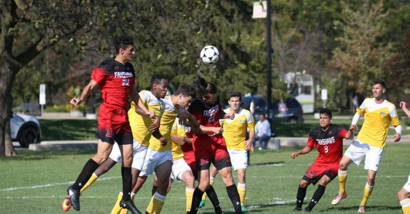 Saints Men's Soccer Host Playoff Game Sunday