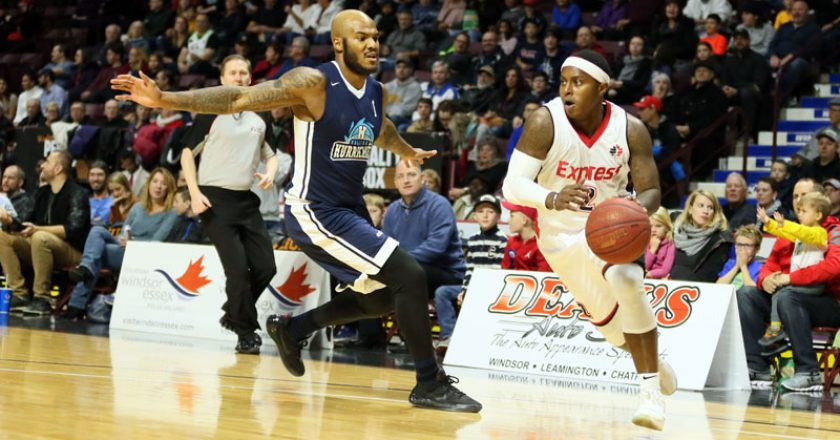 Express vs Halifax Hurricanes November 25