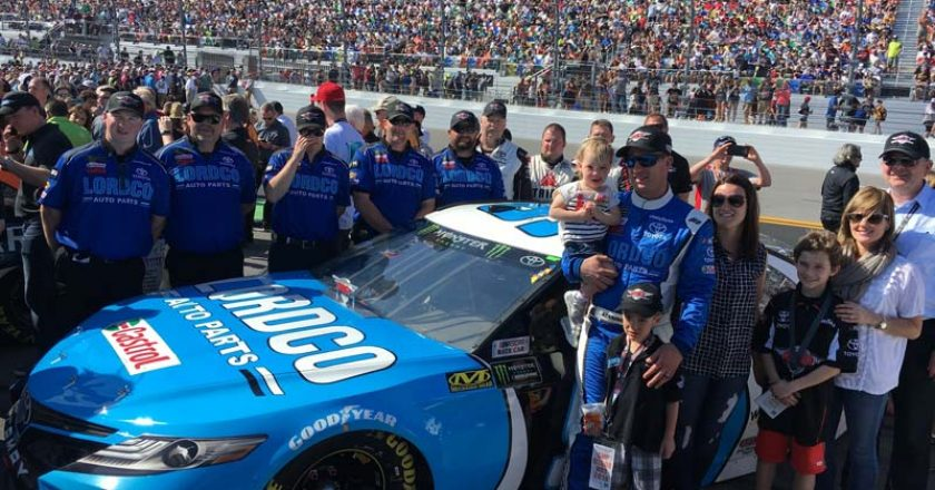 Canadian DJ Kennington Rallies at Daytona 500 Despite Crash Damage