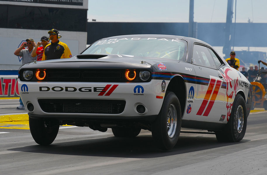 NHRA Top Fuel Star Leah Pritchett to Drive Mopar Dodge Challenger Drag Pak in Full Factory Stock Showdown Schedule