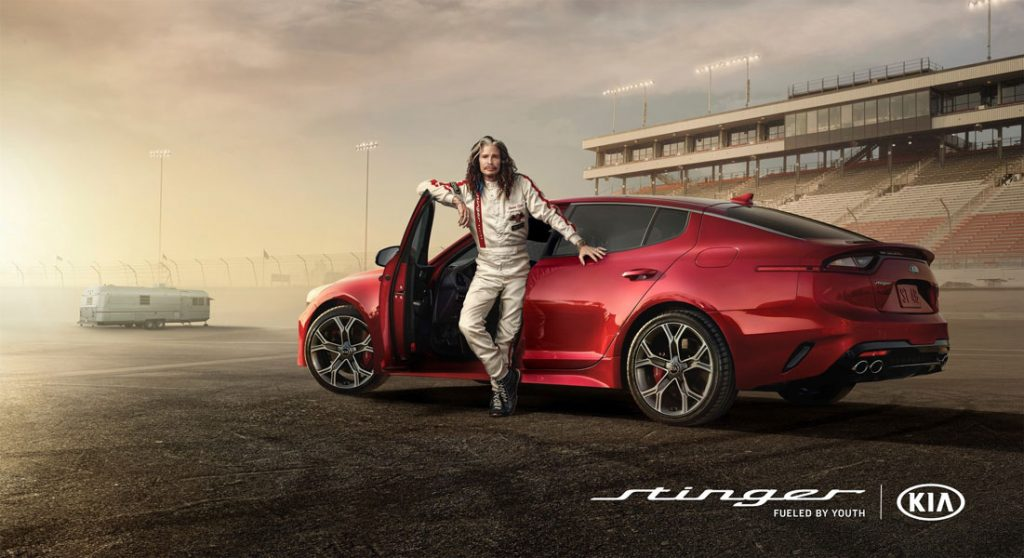Steven Tyler Kia Motors Super Bowl Ad In Play Magazine