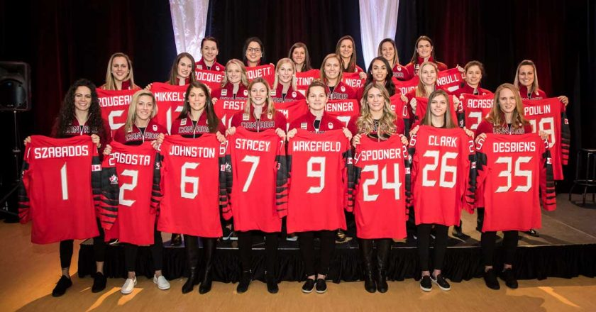 ONLINE AUCTION OF GAME-WORN CANADIAN OLYMPIC HOCKEY JERSEYS TO BENEFIT GRASSROOTS HOCKEY ACROSS THE COUNTRY