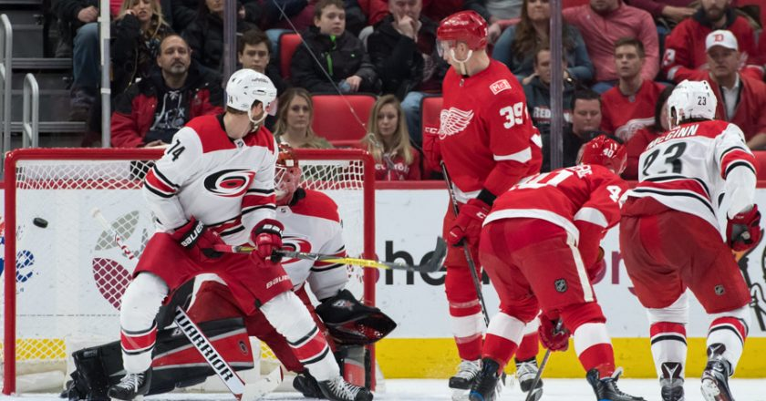 Red Wings vs Carolina Hurricanes Gallery Feb 24