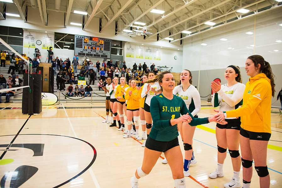 Saints Women Volleyball to Play for Bronze Medal Today
