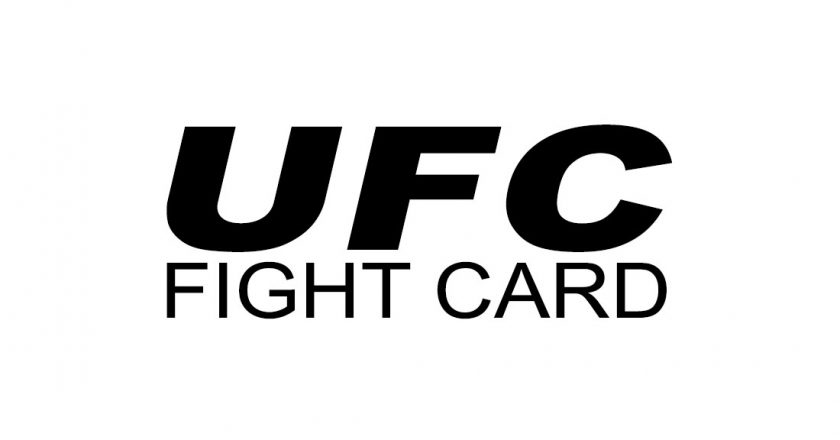 UFC-FIGHT-CARD, UFC 223 Fight Card, UFC 224 Fight Card - May 12 2018