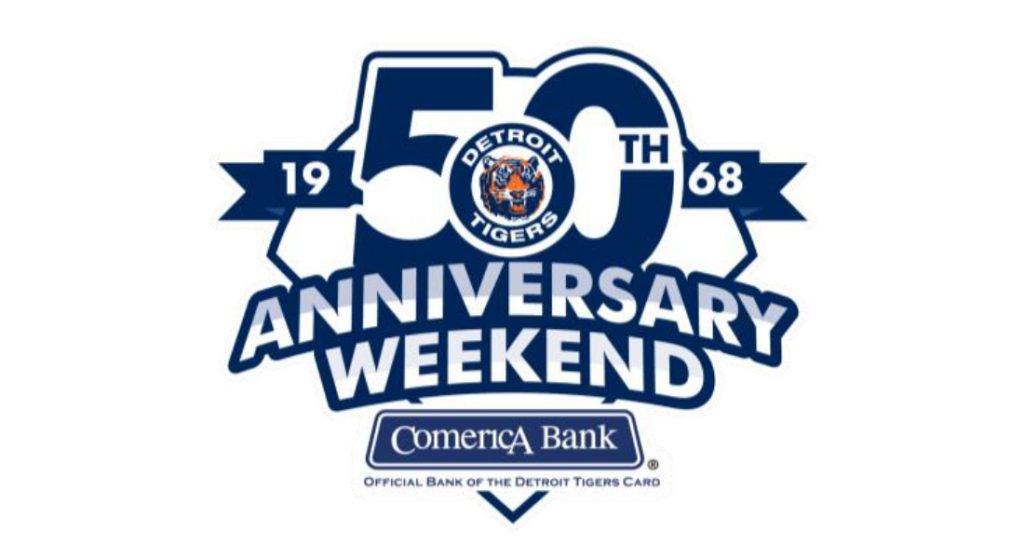 1968 WORLD SERIES CHAMPIONS DETROIT TIGERS 50TH ANNIVERSARY WEEKEND EVENTS
