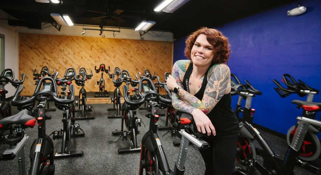 Founded and led by Amy Latawiec, an AFAA and Schwinn-certified cycling instructor,