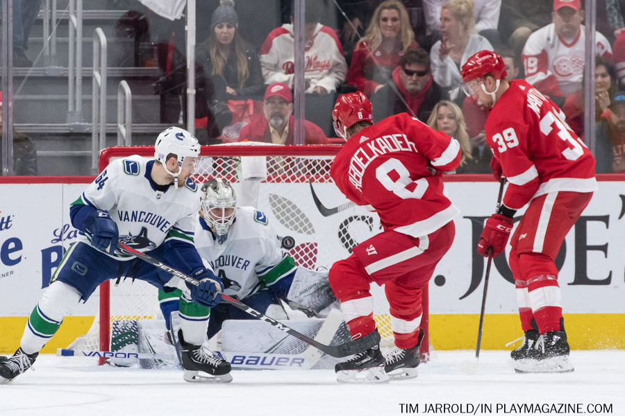Red Wings vs Canucks 11-6-2018 Gallery