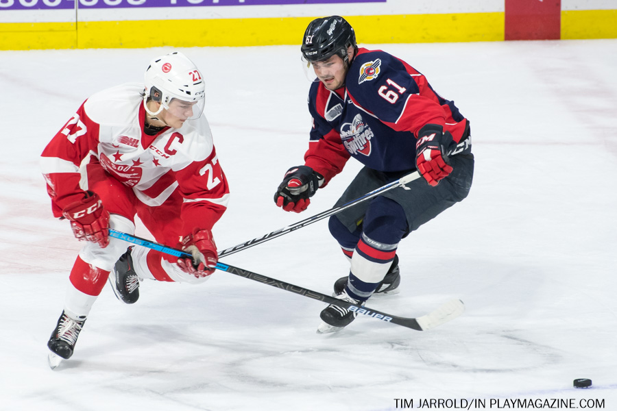 Windsor Spitfires vs Soo Greyhounds