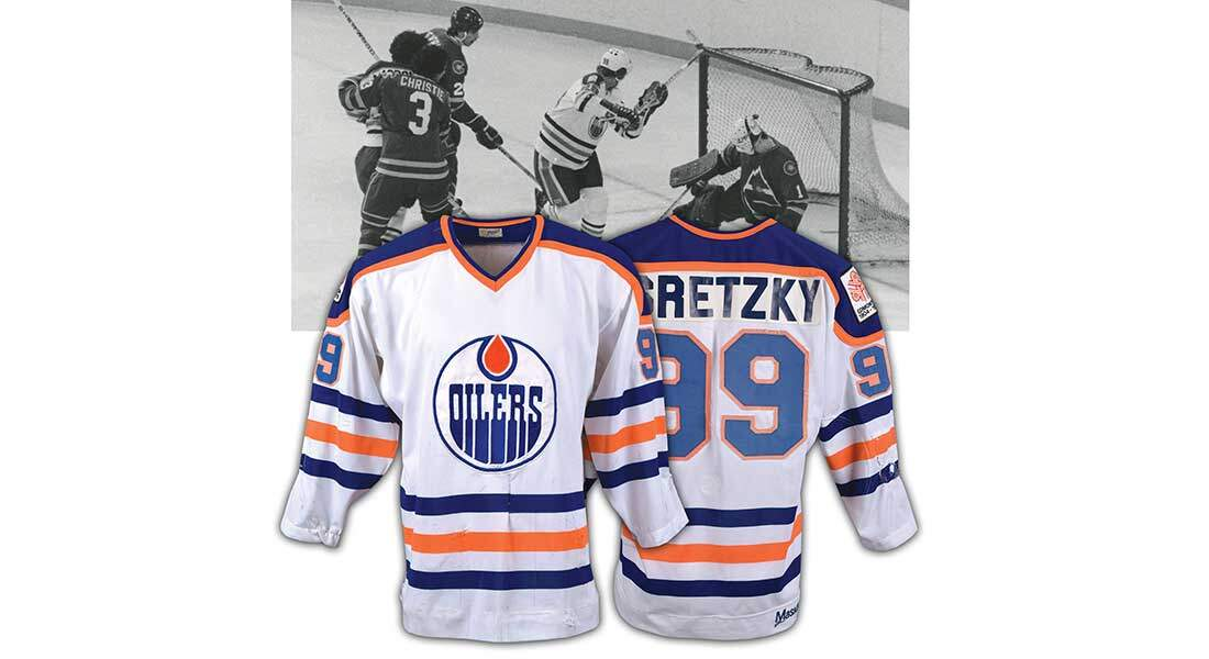 best sneakers 4c51d 223a4 Wayne Gretzky Rookie Jersey Could Fetch $500K - In Play! magazine