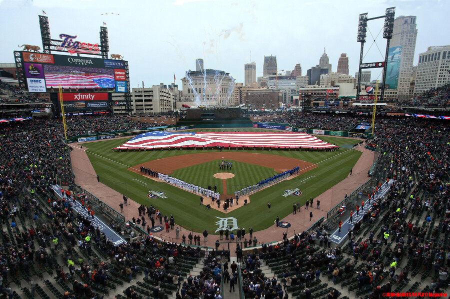 Detroit Tigers Home Opener April 4 2019