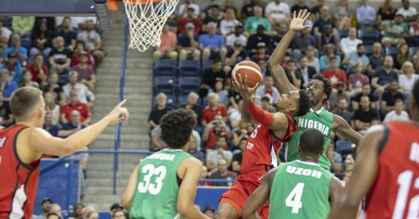 CANADA'S MEN'S BASKETBALL BEATS NIGERIA