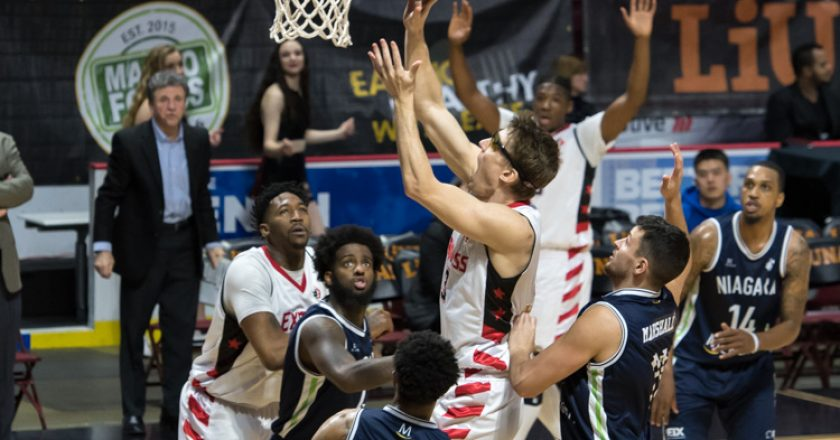 Windsor Express vs Niagara River Lions March 3 Gallery