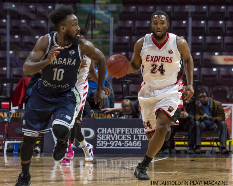 Windsor Express vs. Niagara River Lions