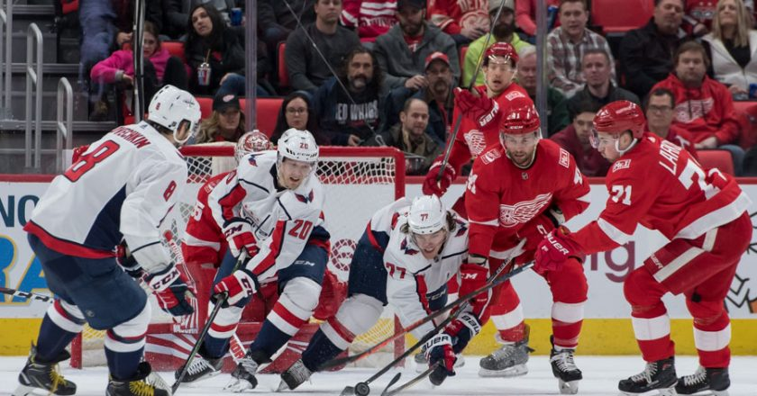 Red Wings vs Capitals March 22 2018 Gallery
