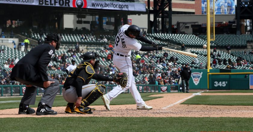 Tigers vs Pirates April 1 2018 Double Header Game 1 Gallery