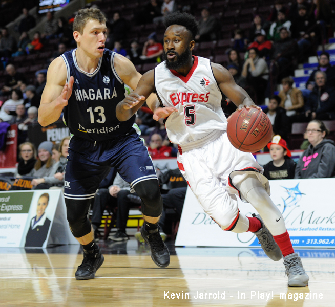 Windsor Express vs Niagara River Lions Feb 10 Gallery